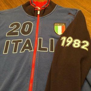 "Puma zip-up ""Italy"""